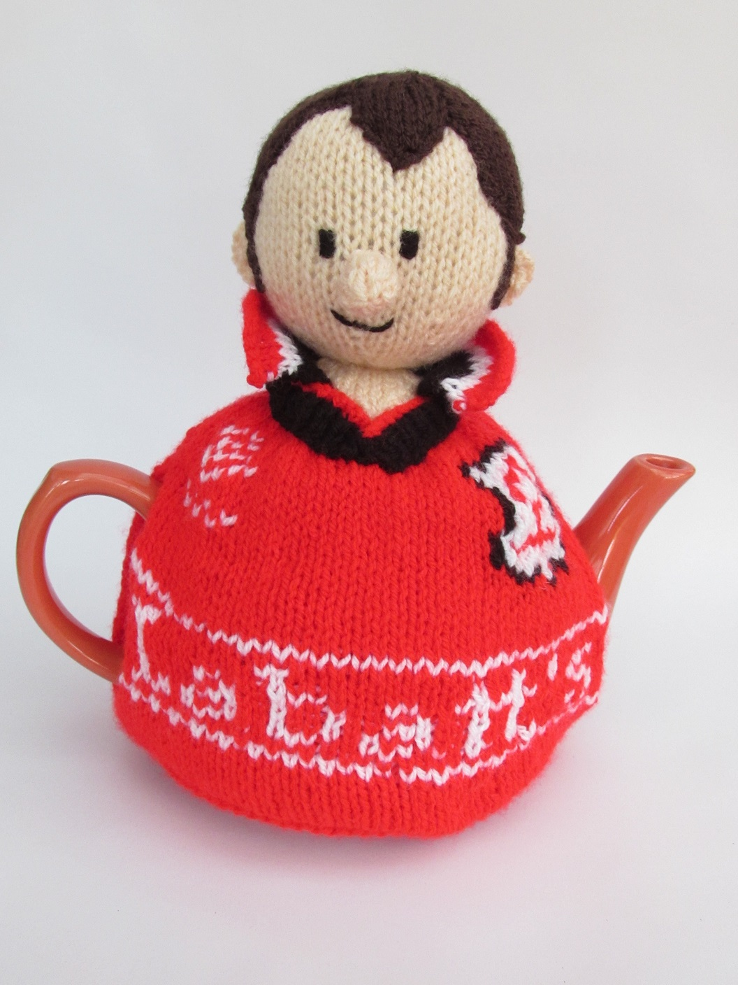 Nottingham Forest Football Supporter knitting pattern