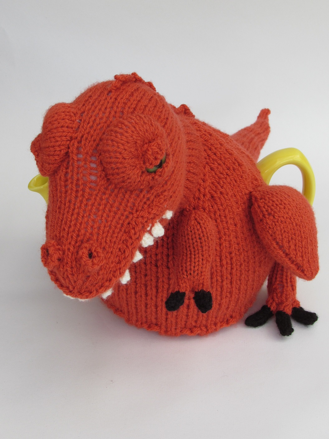 Tea-Rex knitting pattern