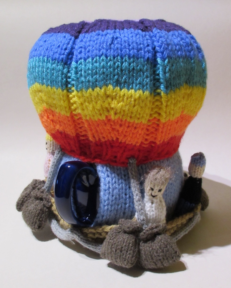 Hot Air Balloon knitting pattern