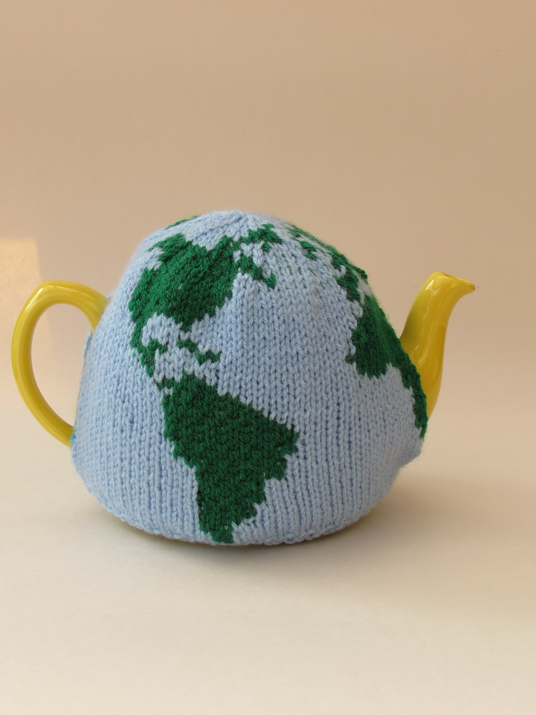 World knitting pattern
