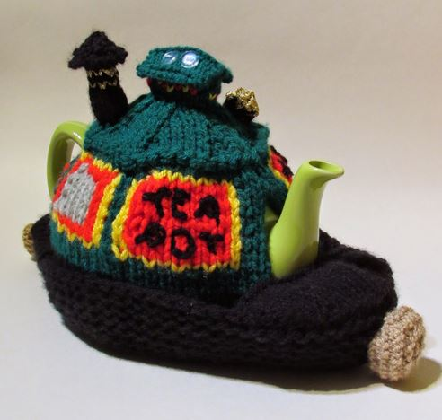 British Waterways Narrowboat knitting pattern