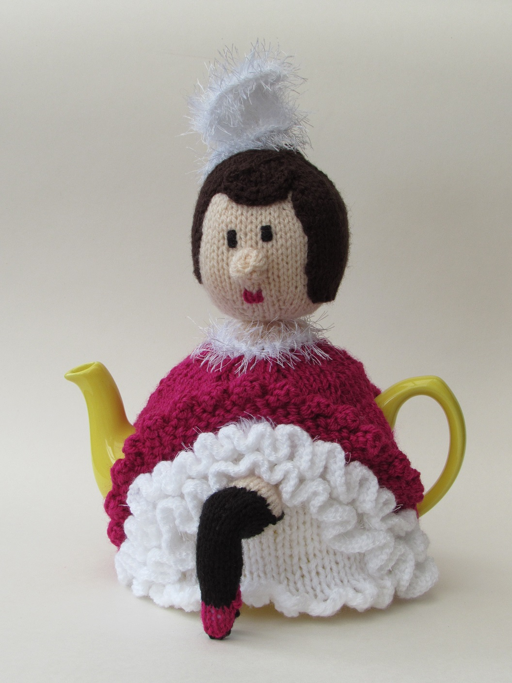 French Can-Can Girl knitting pattern