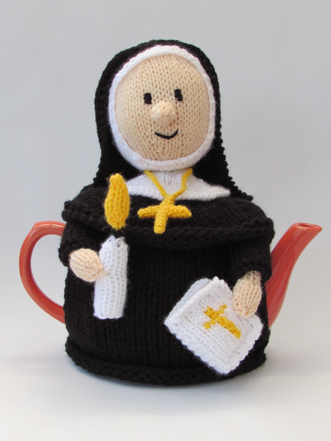 Catholic Nun tea cosy