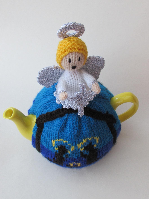 Holy night nativity tea cosy knitting pattern birds eye veiw bankloansurffo Choice Image