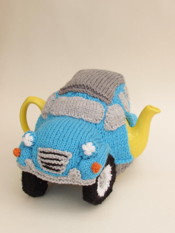 Citroen 2CV tea cosy knitting pattern