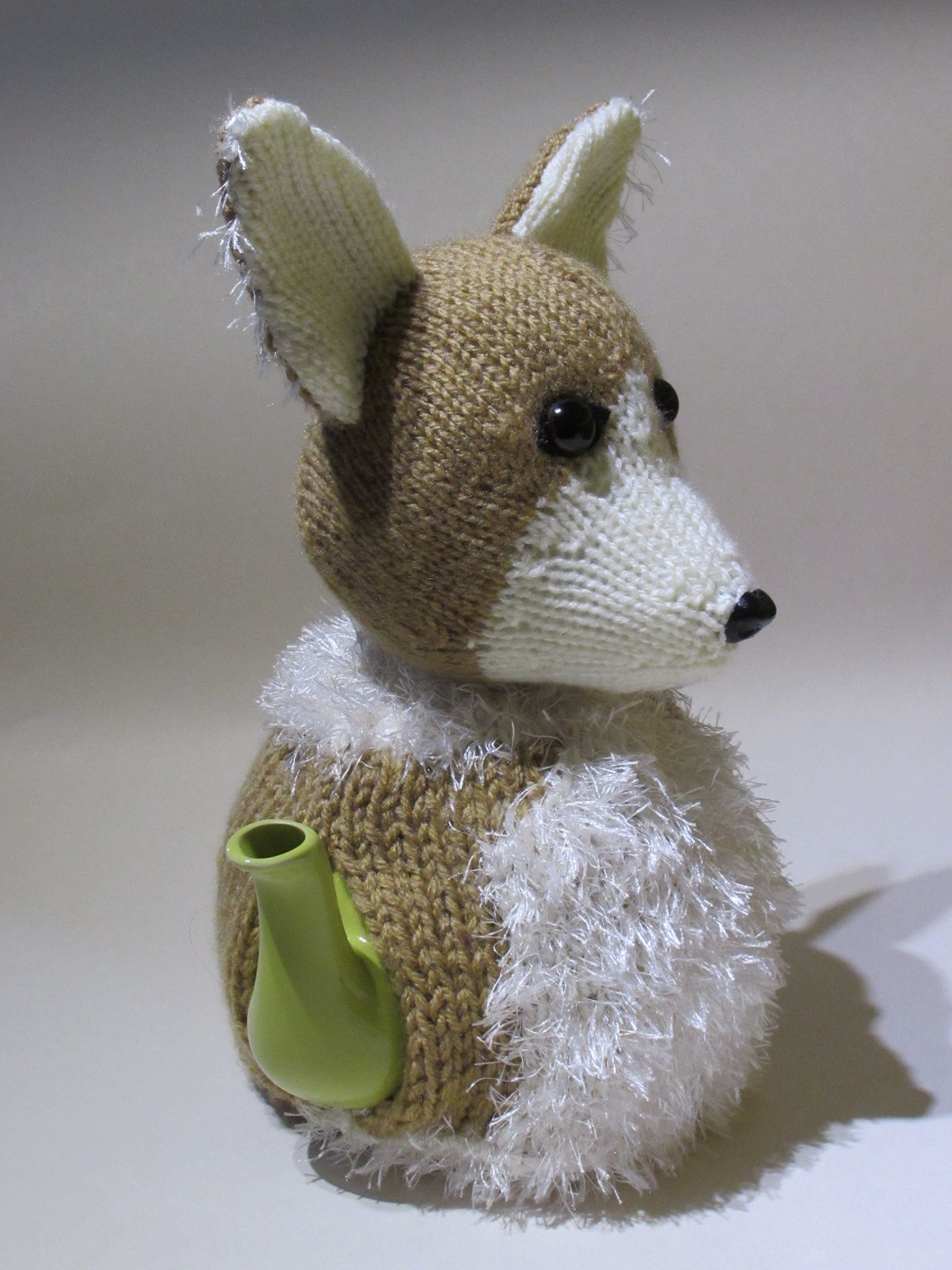 Welsh Corgi knitting pattern