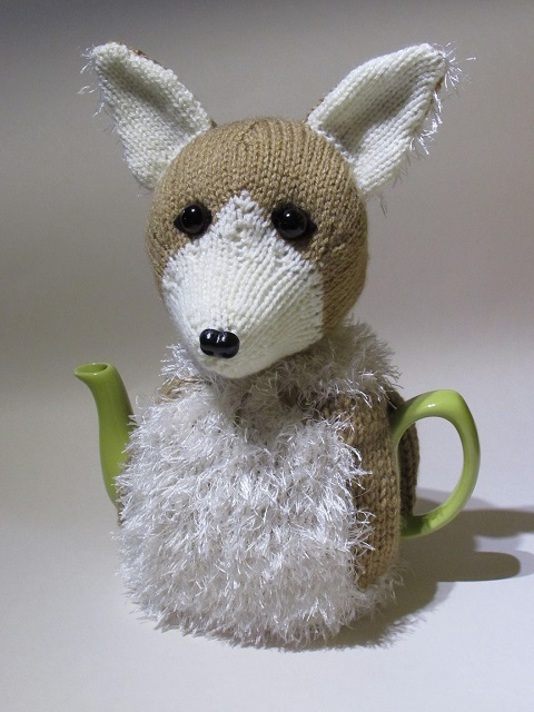 Welsh Corgi tea cosy