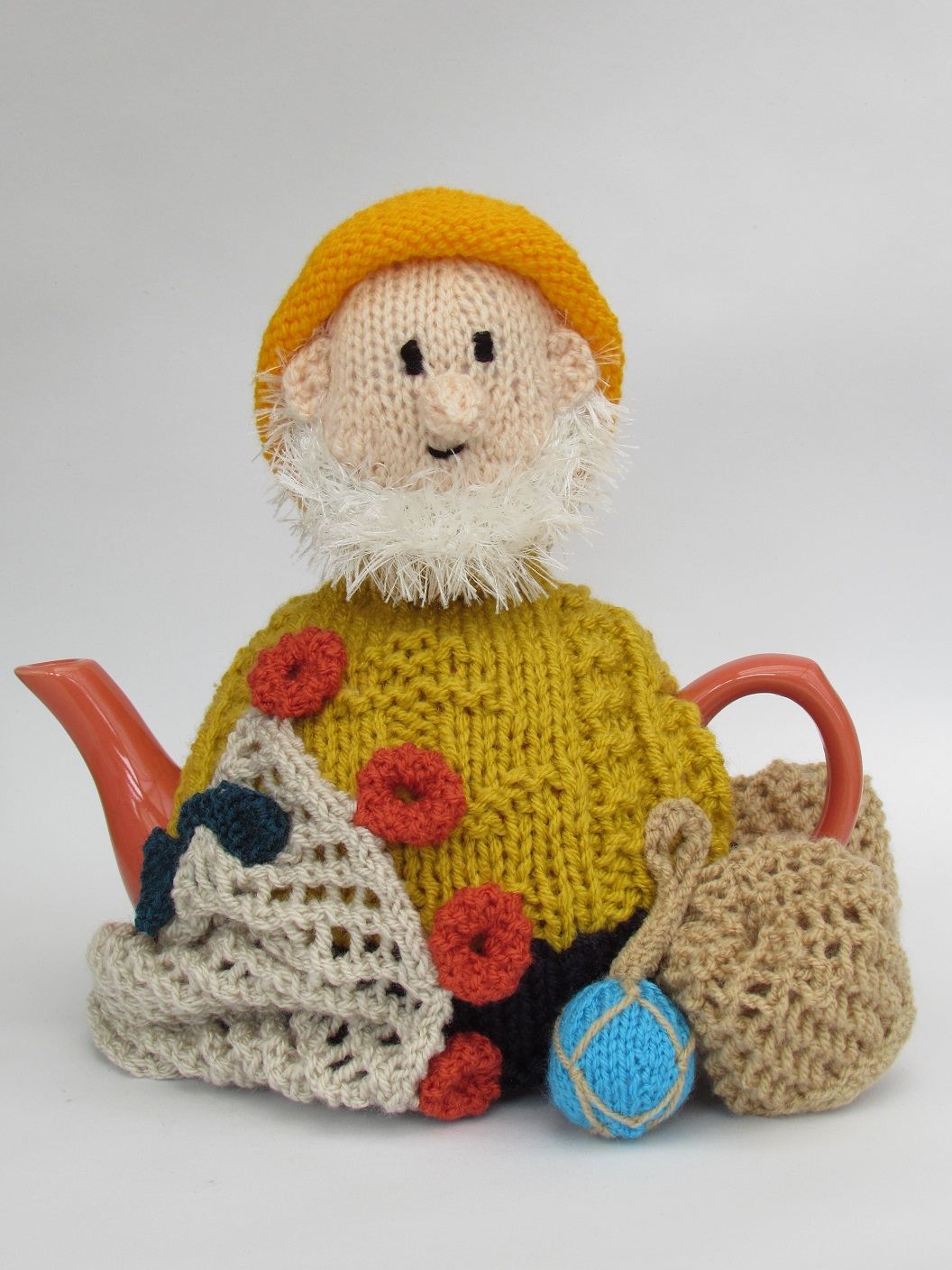 Cornish Fisherman tea cosy