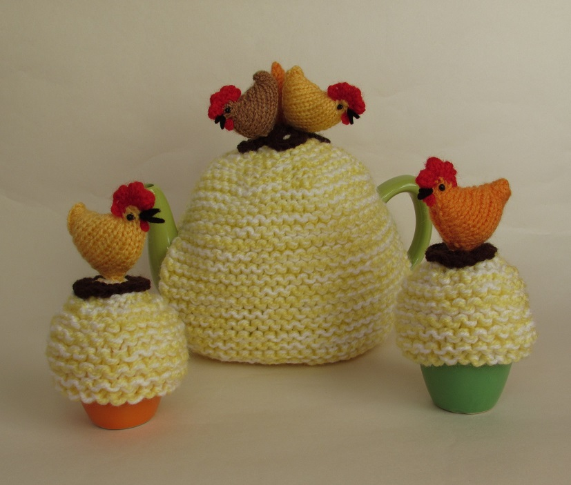 Country Chickens knitting pattern