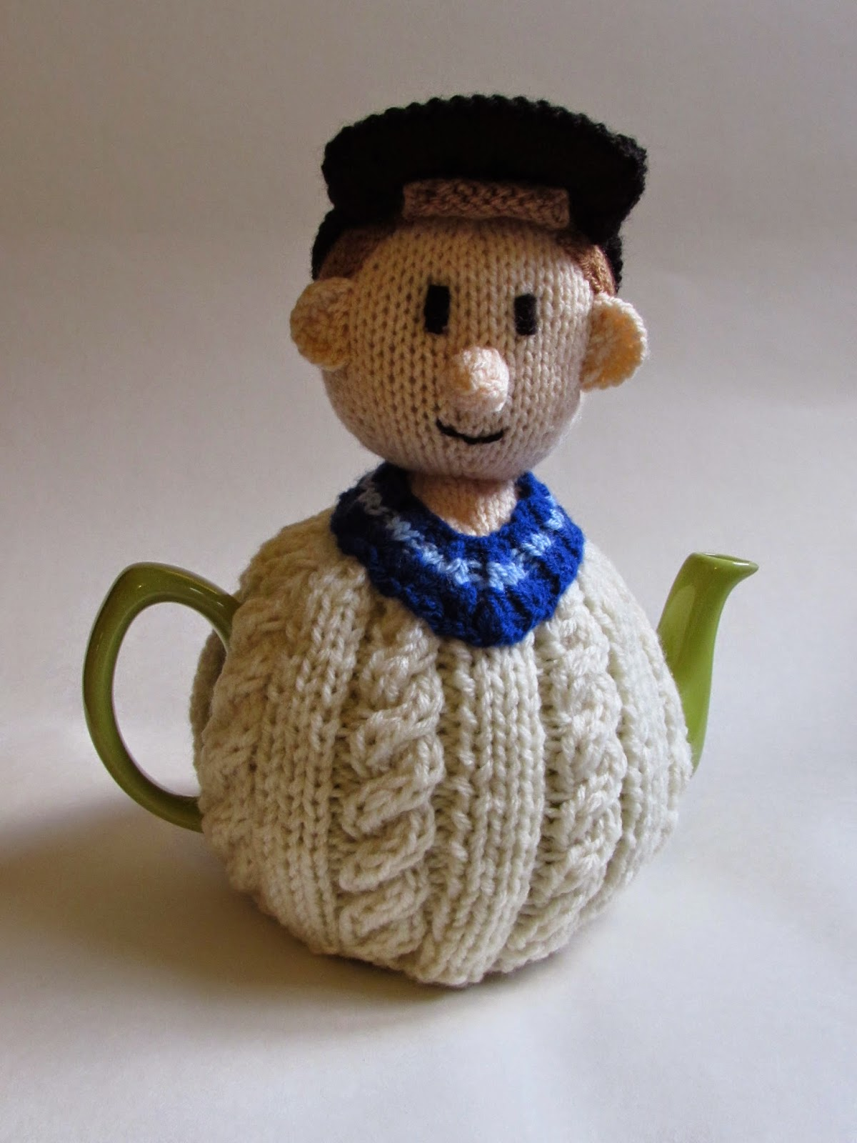 Cricketer knitting pattern