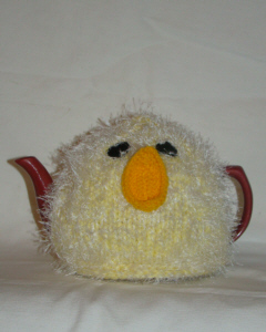 Chick tea cosy