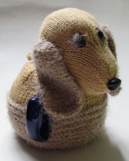 English Cocker Spaniel knitting pattern