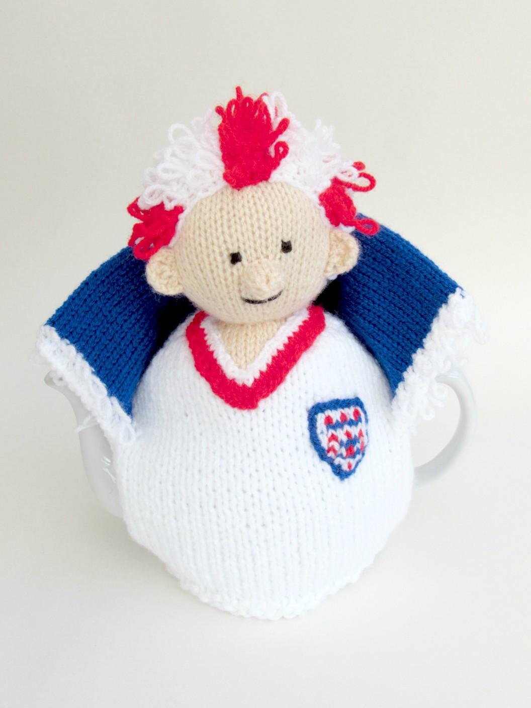 England Football Crazy knitting pattern