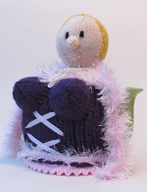 Over the Top Busty Blonde knitting pattern