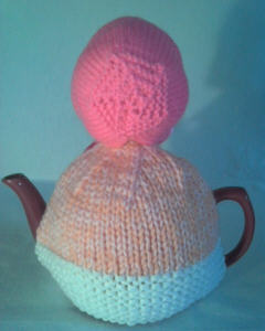 Girl Tea Baby knitting pattern