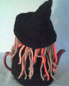 Halloween Witch knitting pattern