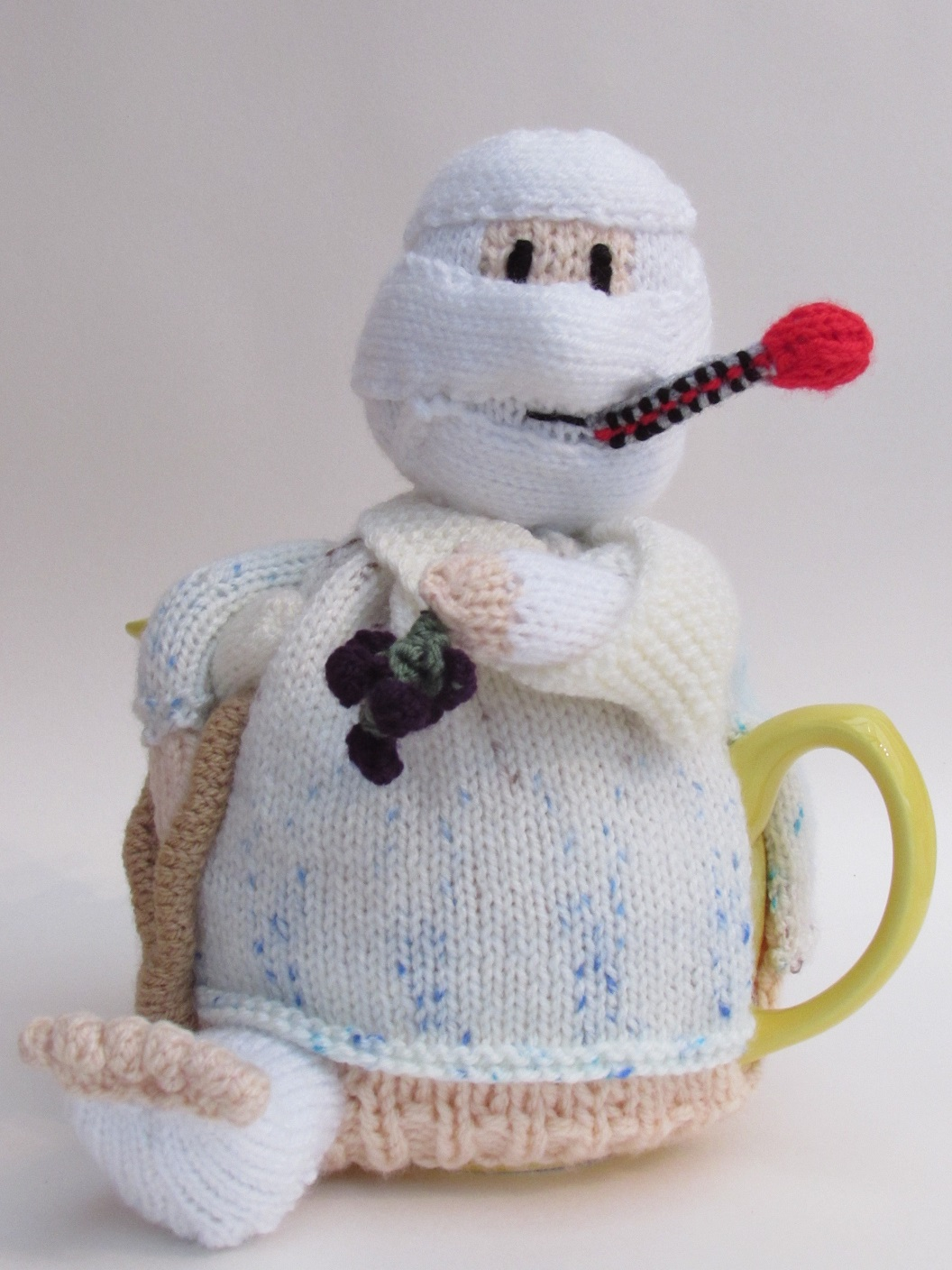 Hospital Patient knitting pattern