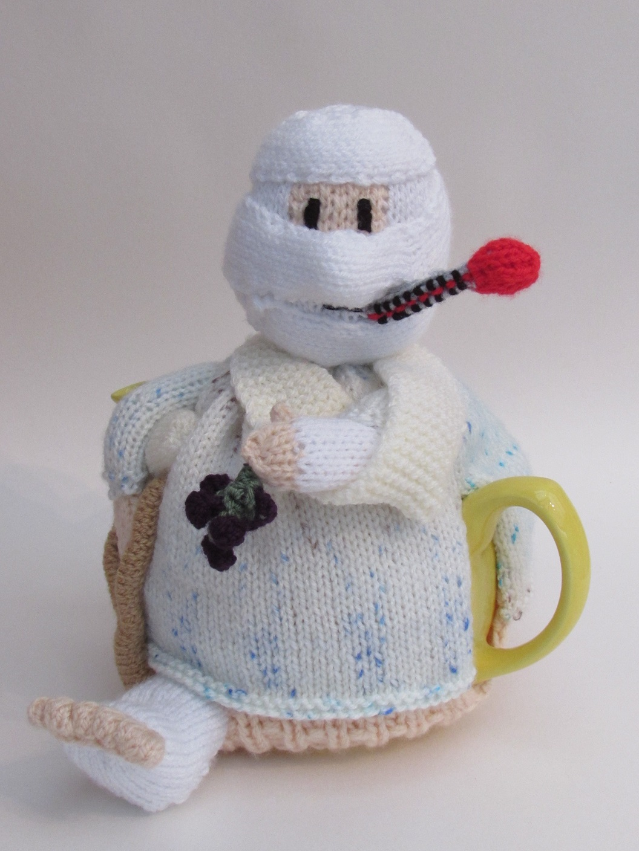 Hospital Patient Tea Cosy Knitting Pattern