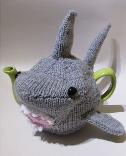 Shark knitting pattern