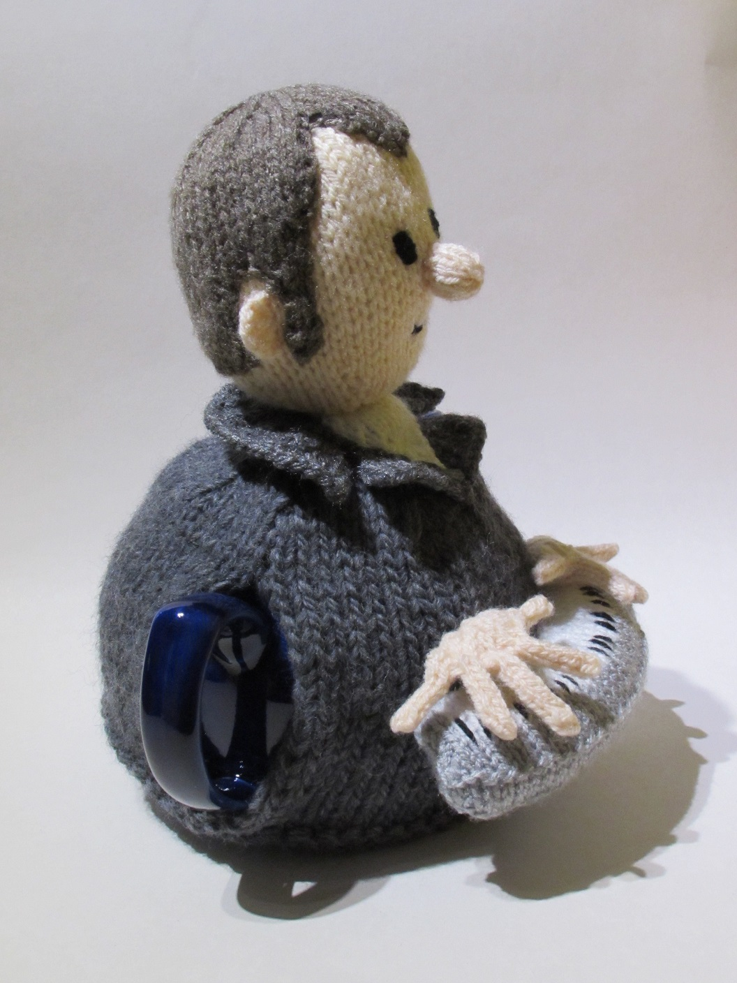 Music Man (Keyboard Player) knitting pattern