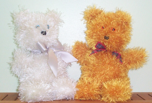 Easy to Knit Teddies