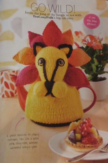 Page from Simply Knitting Magazine issue 143