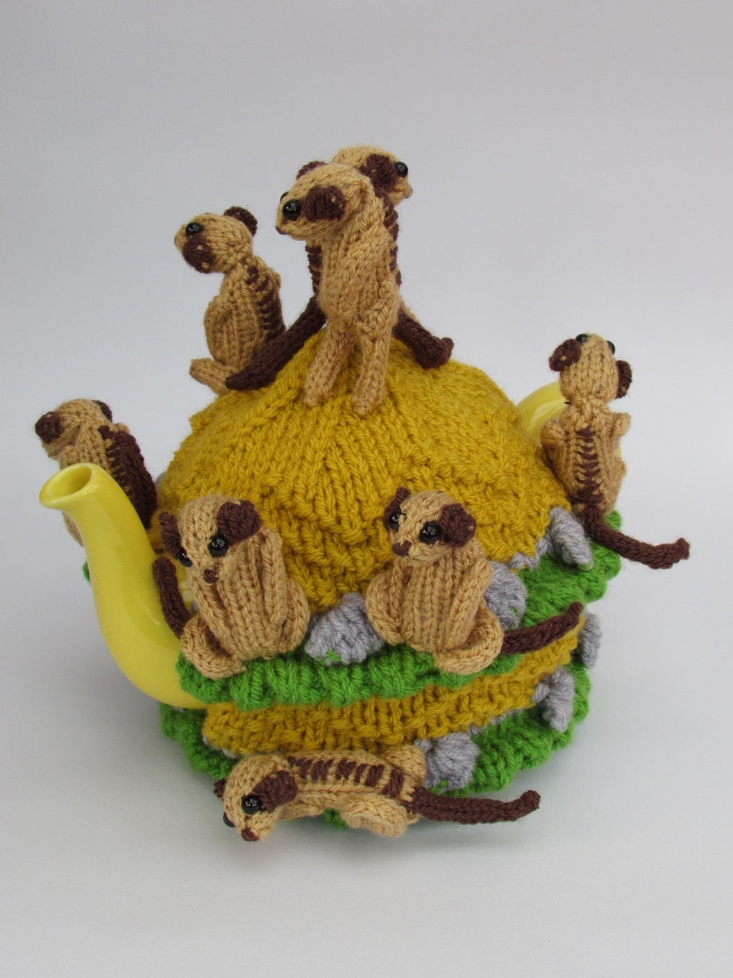 Meerkat  knitting pattern