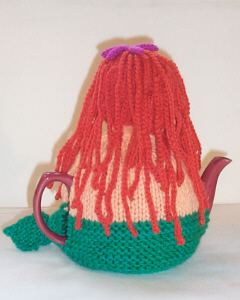 Mermaid knitting pattern