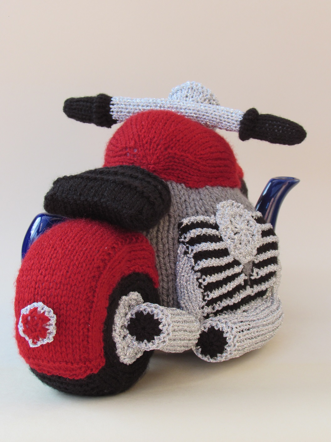 Motorcycle knitting pattern