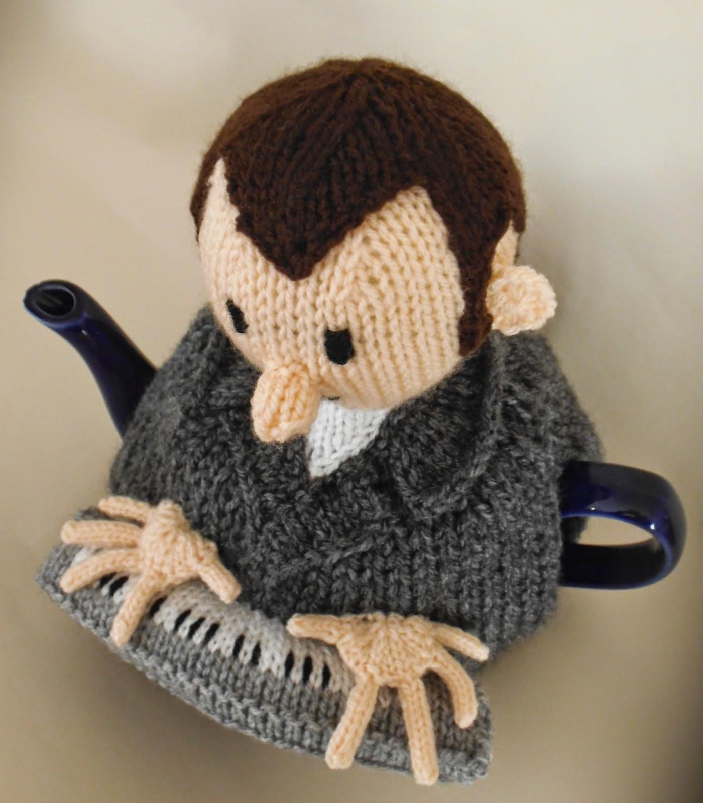 Music Teacher Tea Cosy Knitting Pattern