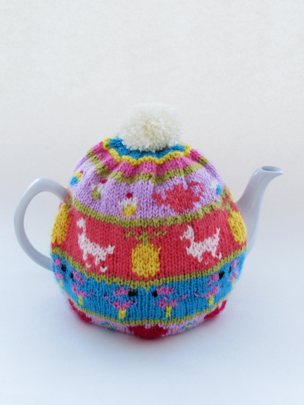 My Favourite Things Fair Isle tea cosy