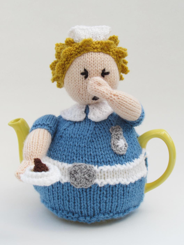 Nurse Tea Cosy Knitting Pattern
