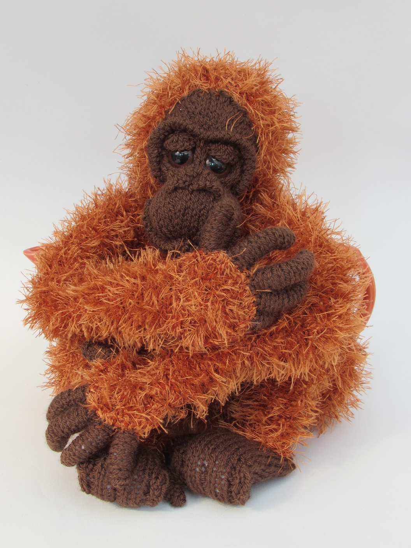 Orangutan tea cosy knitting pattern orangutan tea cosy knitting pattern orangutan bankloansurffo Choice Image