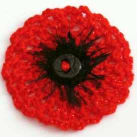remembrance poppy knitting pattern design