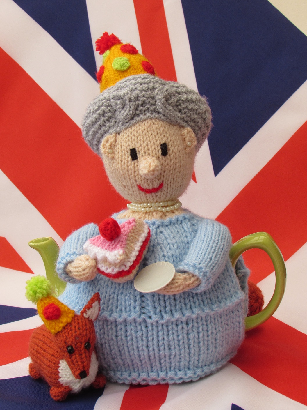 Queen's 90th Birthday tea cosy