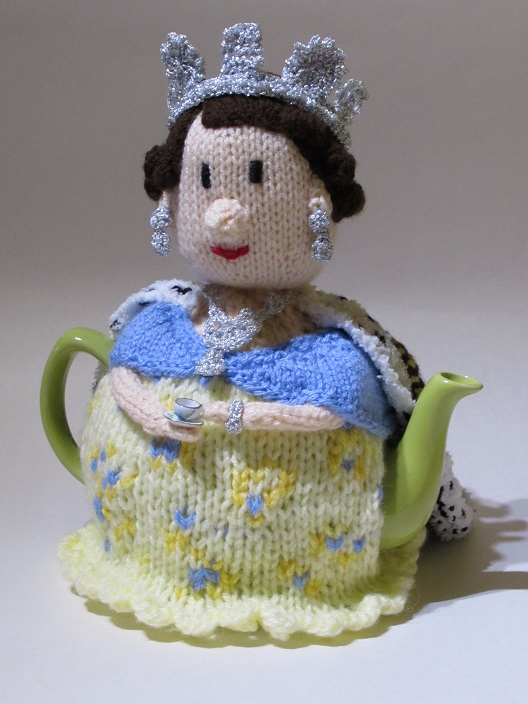1950s Queen Elizabeth Ii Tea Cosy Knitting Pattern