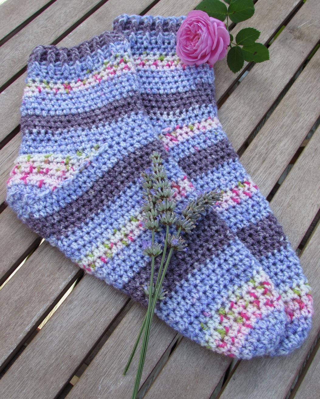 Easy Knitting Pattern Bed Socks