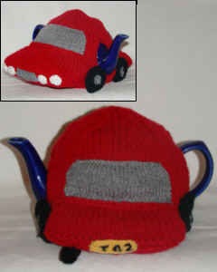 Little Red Car knitting pattern