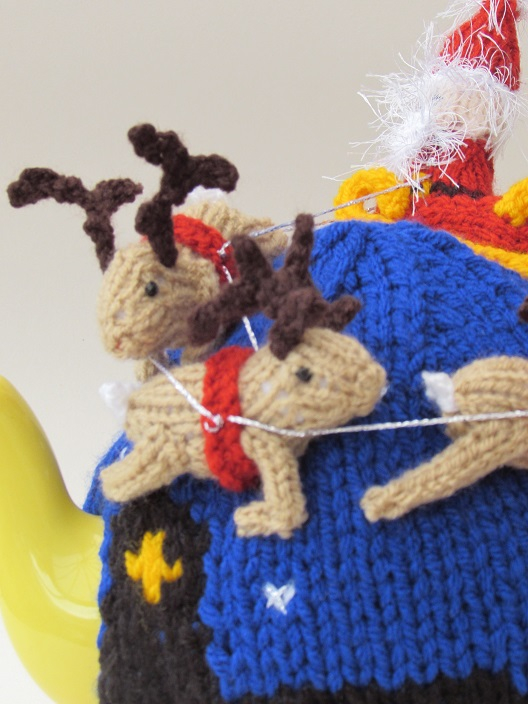 Santa's Sleigh Ride knitting pattern