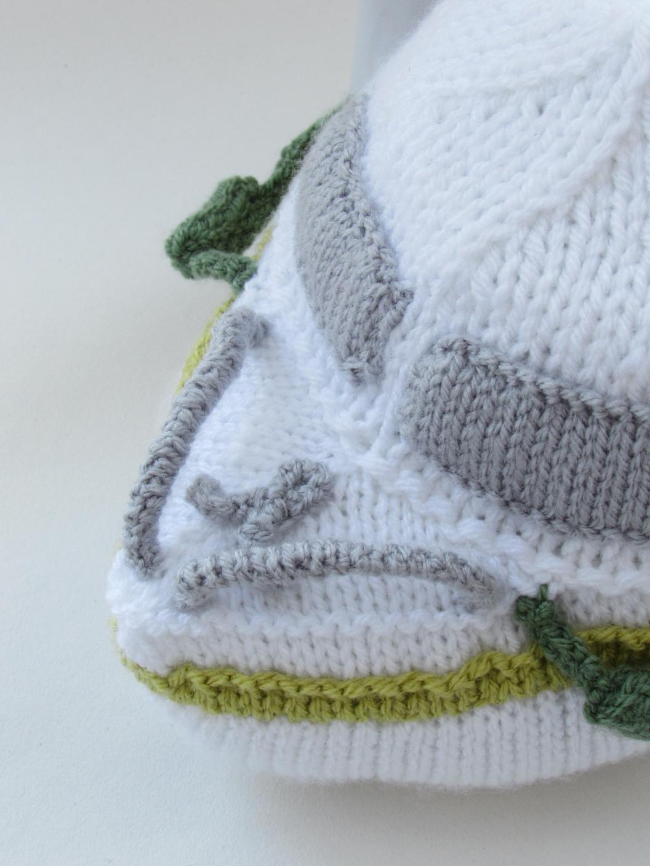 Holiday Cruiser tea cosy knitting pattern