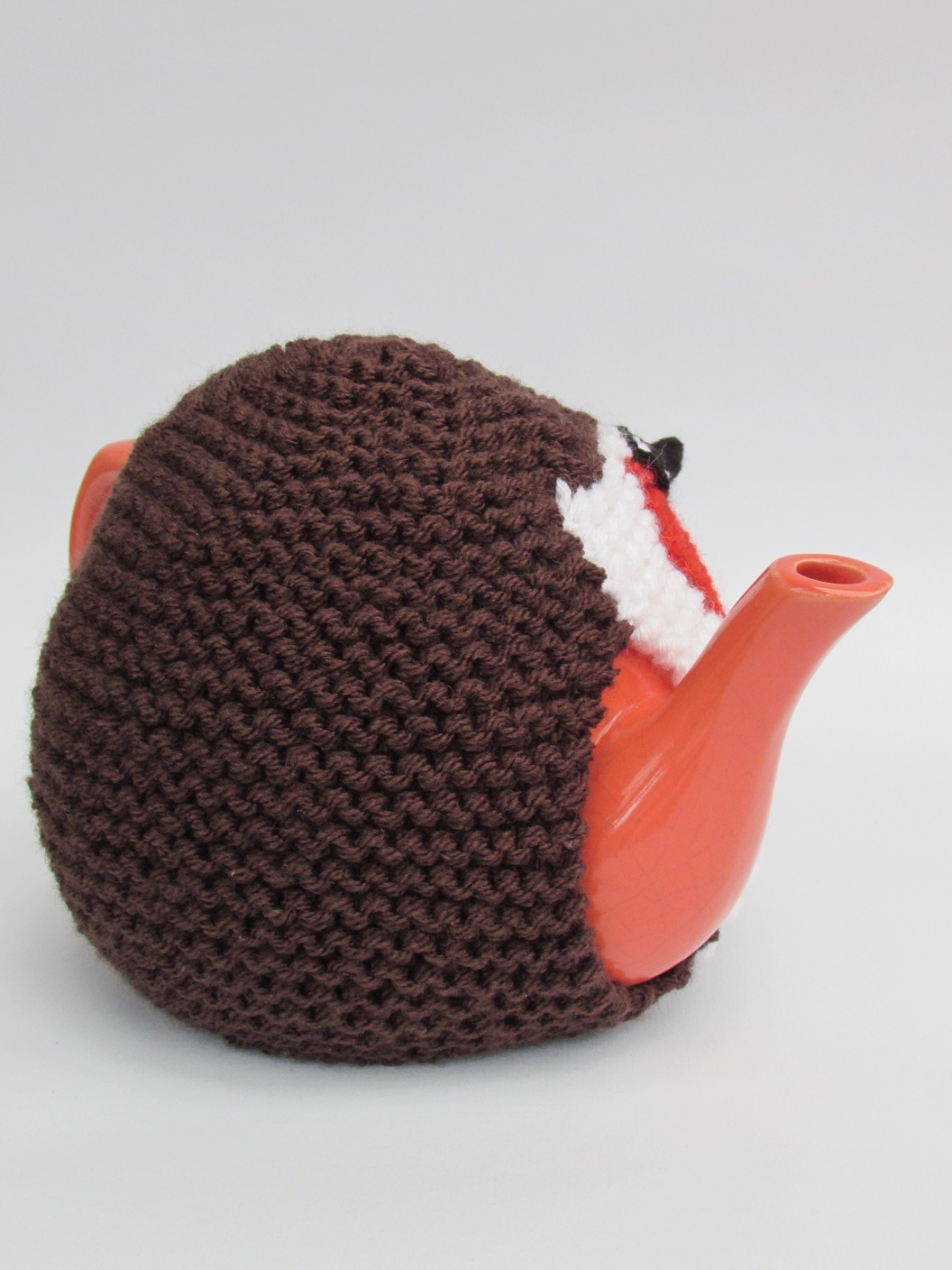 Knitting Pattern For Robin Tea Cosy : Robin Red Brest tea cosy knitting pattern
