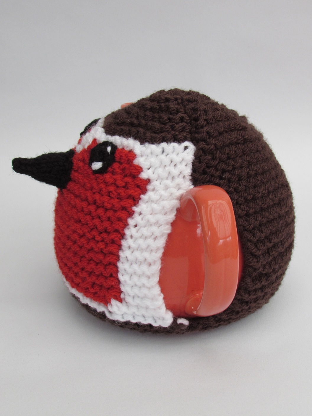 Robin Red Breast knitting pattern