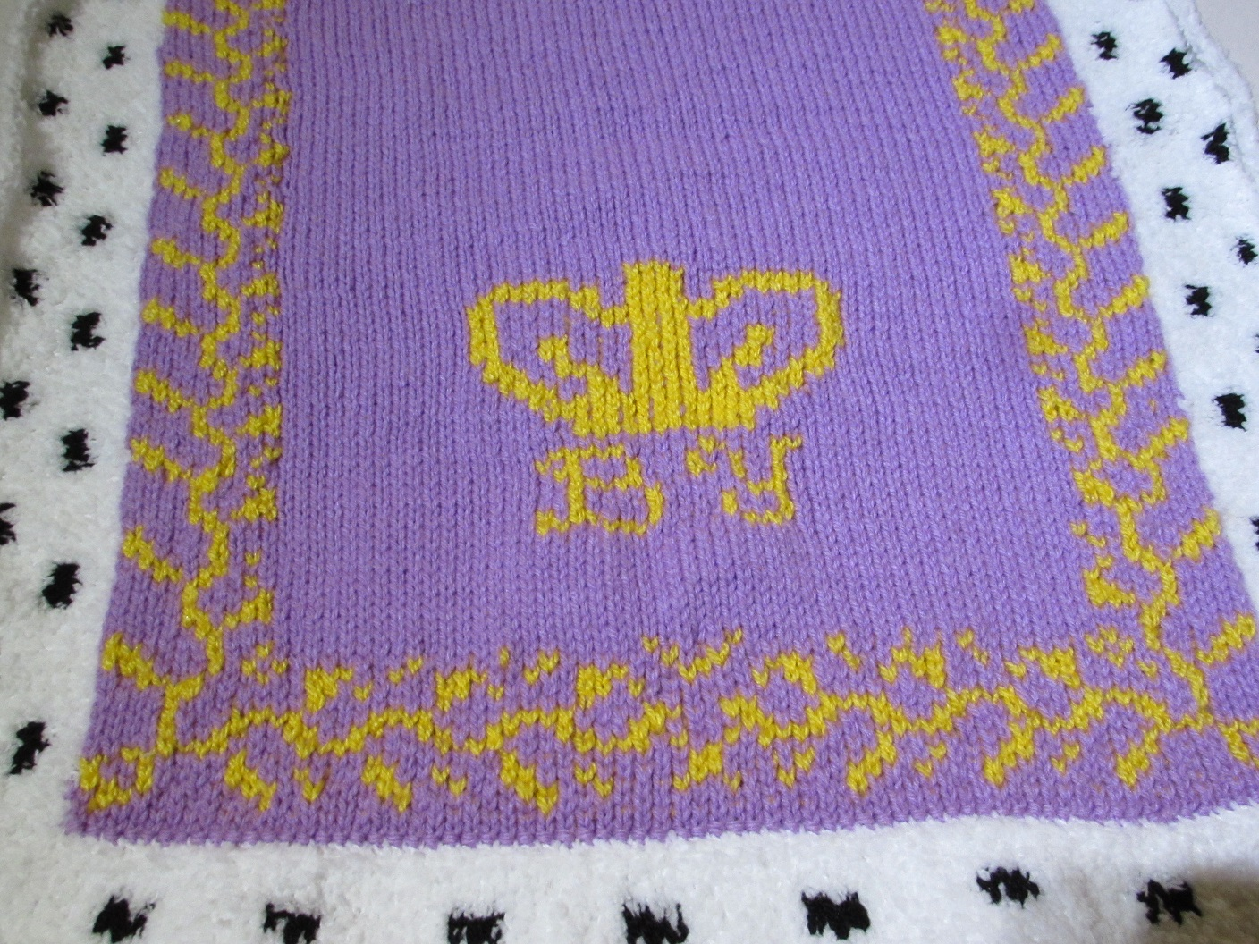 Baby's Royal Pram Blanket