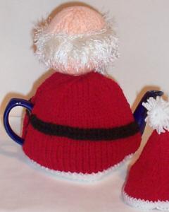 Santa Claus Tea Cosy Knitting Pattern