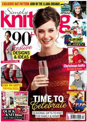 Simply Knitting issue 140
