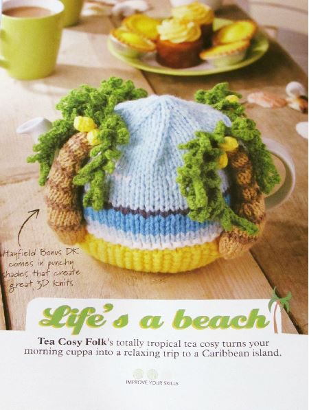 Simply Knitting Magazine - Lifes a Beach