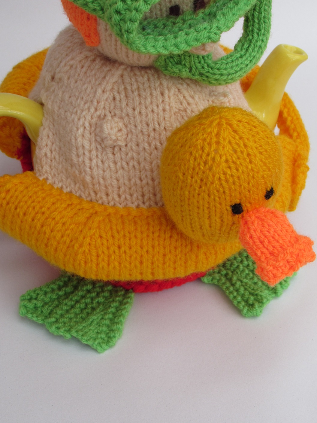 Snorkeler knitting pattern