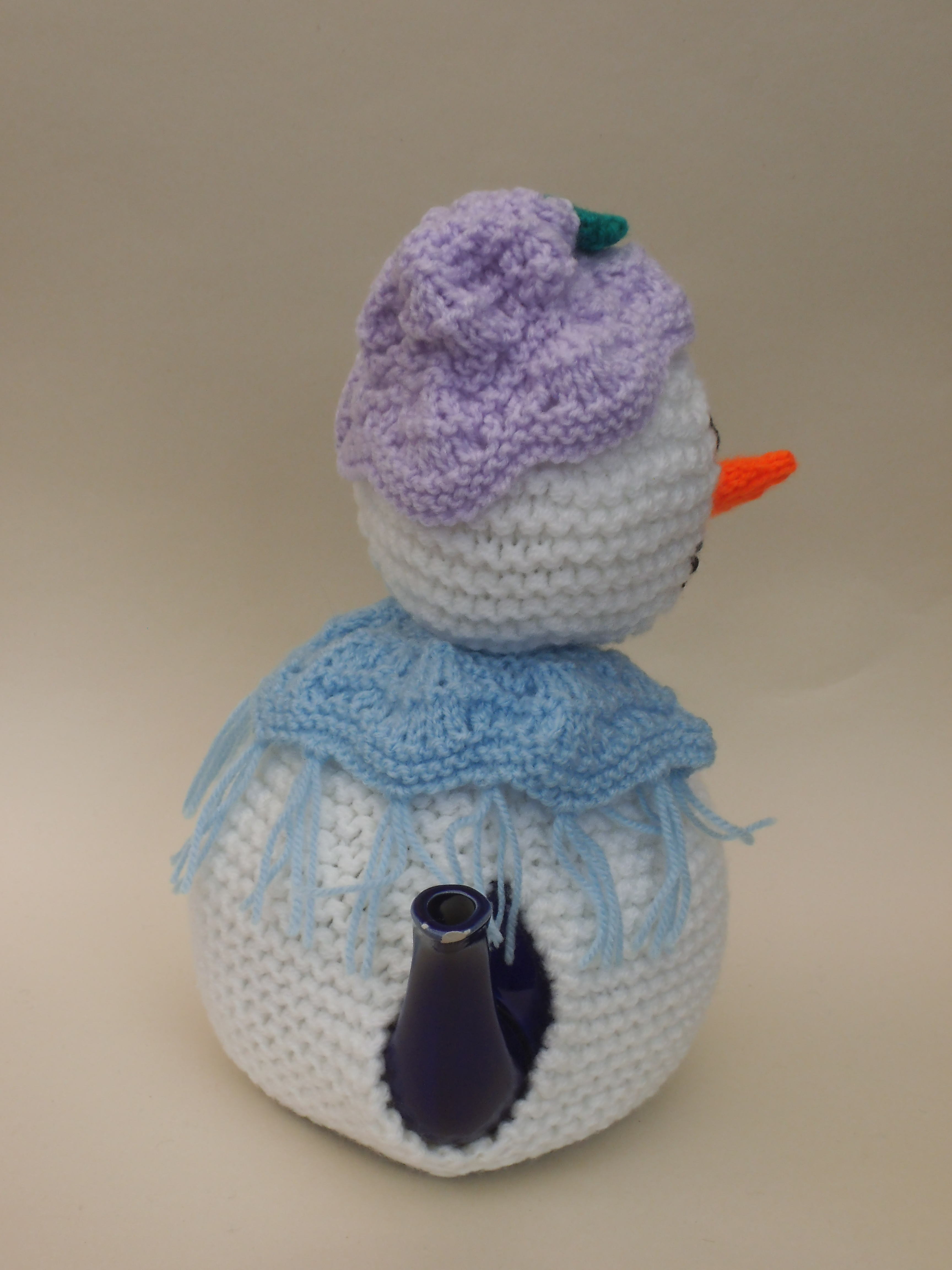 Snowlady Side View