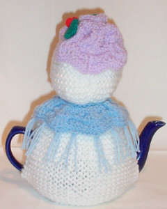 Snowlady knitting pattern