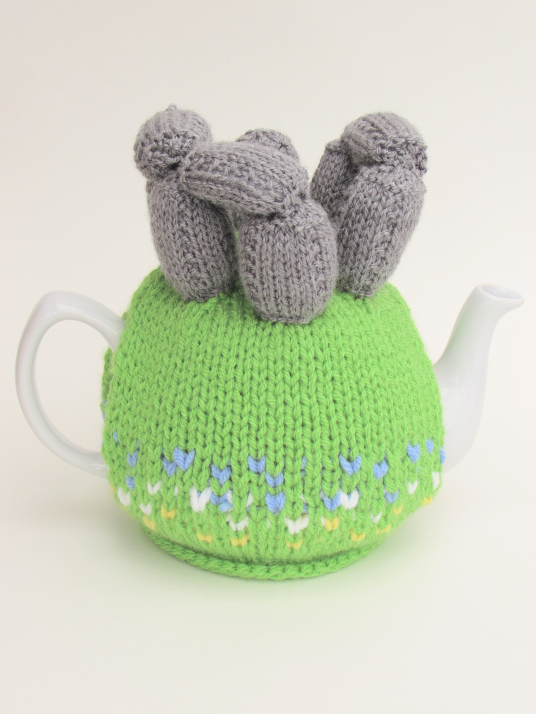 Summer Solstice tea cosy knitting pattern